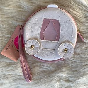 Betsey Johnson Carriage coin purse/wristlet NWT